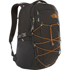 The North Face Borealis Backpack asphalt grey dark heather/citrin yellow